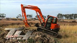 Kubota KX080-3 --- 6-8 Excavator