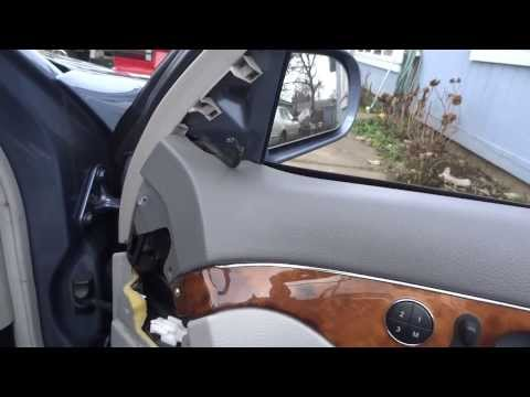 w211 door panel removal pt 2 how to save money and do it. Black Bedroom Furniture Sets. Home Design Ideas