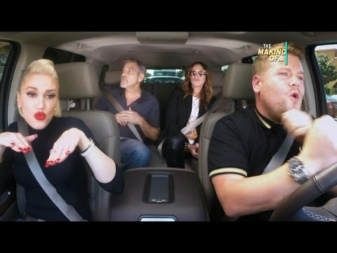 EXCLUSIVE: How 'Late Late Show' Got Gwen Stefani, George Clooney, Julia Roberts for Carpool Karao…