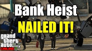 GTA 5 Online Heists Preparing For Bank Heists Episode 1 (GTA 5 Funny Moments)