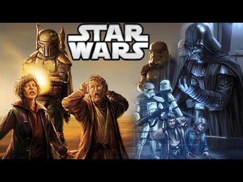 How Darth Vader Watched the Death of Uncle Owen and Beru - Star Wars Explained (Legends)