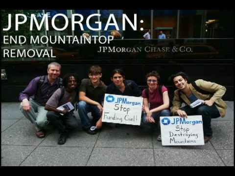 JPMorgan Chase: End Mountaintop Removal
