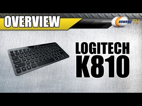 Newegg TV: Logitech Bluetooth Illuminated Keyboard K810 Overview