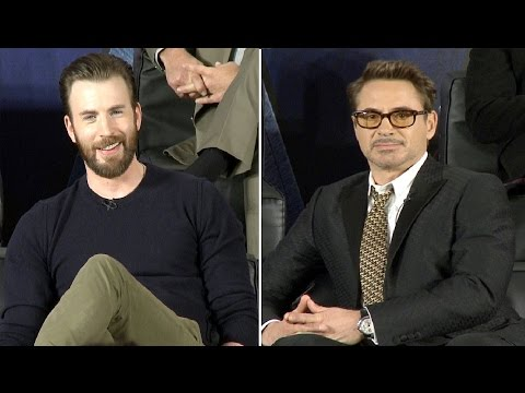 Captain America Civil War Premiere Interviews