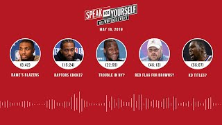 SPEAK FOR YOURSELF Audio Podcast (5.16.19) with Marcellus Wiley, Jason Whitlock | SPEAK FOR YOURSELF