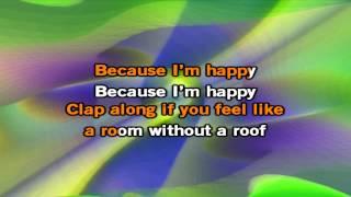 Pharrell Williams Happy Karaoke Audio