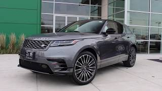 2018 Range Rover Velar First Edition Review - Start Up, Revs, and Walk Around
