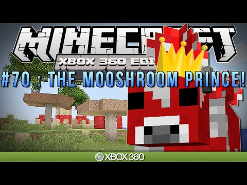 Minecraft Xbox   the Mooshroom Prince   Survival #70 video