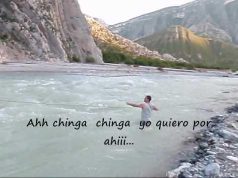 La Raza en la HUASTECA cruzando rios...