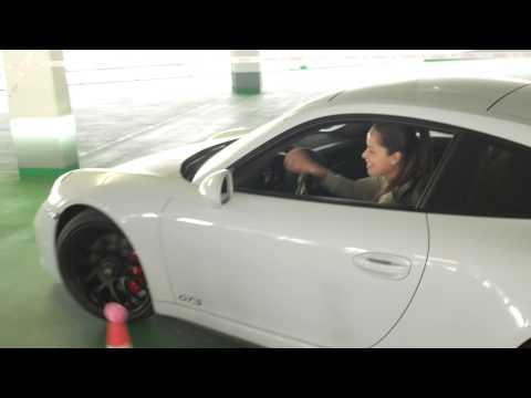 Parking Challenge with Ana Ivanovic - Porsche Tennis Grand Prix 2015