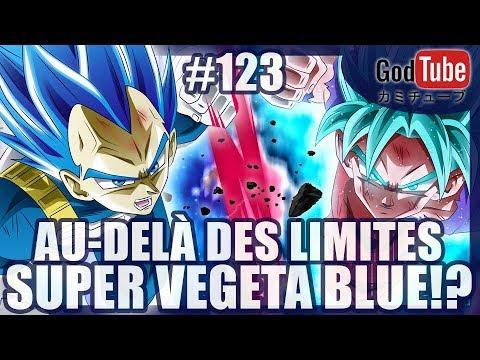 AU-DELÀ DES LIMITES ! SUPER VEGETA BLUE !!! - [REVIEW/DBS/123]