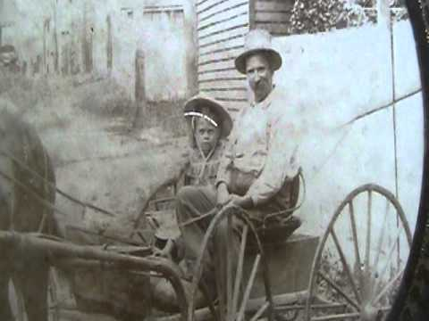 Picture of Gertrude McHugh as a Child on Horse (with Father?)