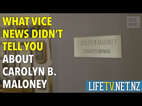 What Vice News didn't tell you about Carolyn B.  Maloney