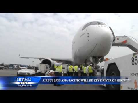 Airbus Says Asia-Pacific will be Key Driver of Growth