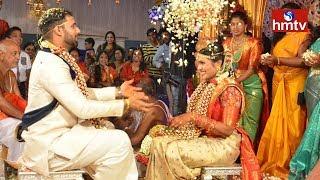 Team India Cricketer Hanuma Vihari Wedding Ceremony | hmtv