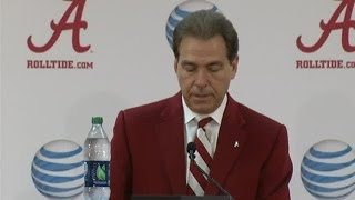 Nick Saban signing day presser