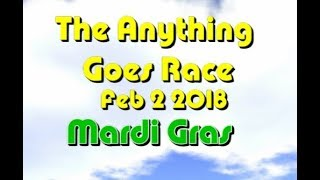anything goes Race 2018 02 02  Mardi Gras