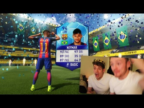FIFA 17 - TOTGS NEYMAR IN A PACK PRANK!!!