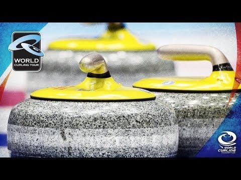 WCT: Edin (SWE) v Baumann (GER) - Curling Masters Champéry 2018