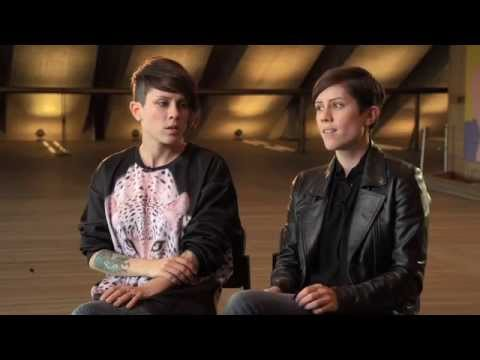 Tegan &amp; Sara - Interview at the Opera House