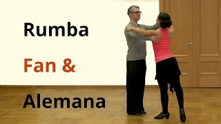 Rumba Basics - Fan and Alemana | Latin Dance