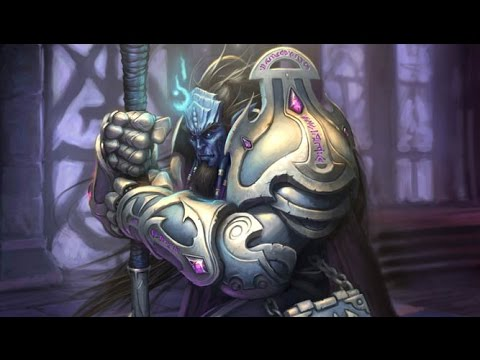 Showing picture: human paladin wow art human