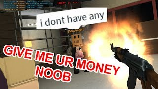 Trolling Noobs in a ROBLOX RP game!