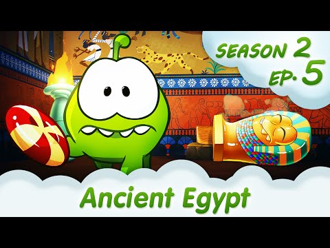 Om Nom Stories: Ancient Egypt (Cut the ROPE. Season 2. Episode 5) @KEDOO ANIMATIONS 4 KIDS