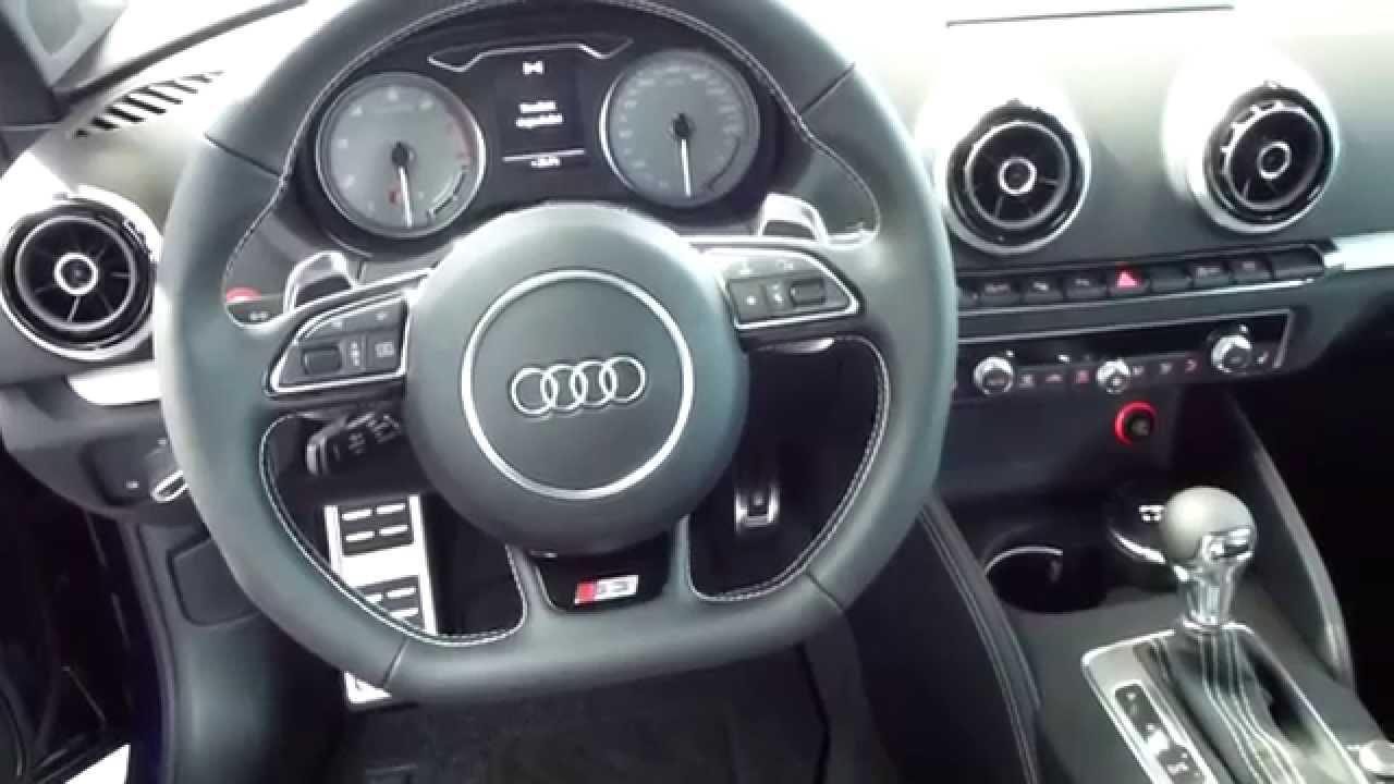2013 Audi S3 Quattro Exterior Amp Interior 2 0 Turbo 300 Hp 250 Km H 155 Mph See Also Playlist