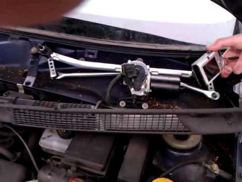 Ruitenwissermotor vervangen in m'n Astra G '98
