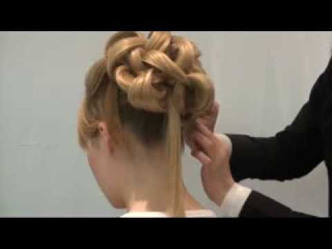 Amazing Wedding Upstyle With Elegant Curls.