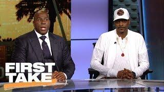 Stephen A. Smith, Snoop Dogg and Magic Johnson discuss Colin Kaepernick   First Take   ESPN
