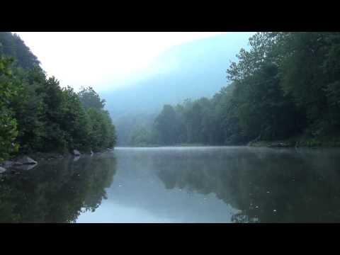 Stock Footage - Juniata River, scenic view