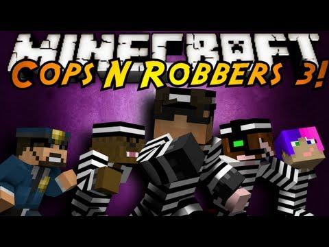 Minecraft Mini Game : COPS N ROBBERS 3