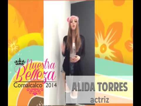 Alida Torres Invita a la Eleccion de Nuestra Belleza Comalcalco 2014