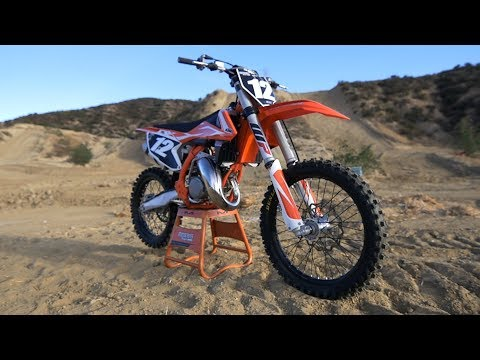 First Ride 2018 KTM 125SX 2 Stroke - Motocross Action Magazine