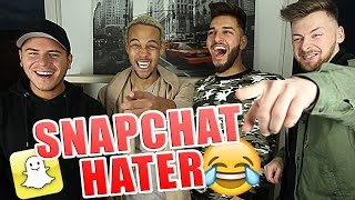 Snapchat HATERVIDEOS + Reaktion! 😂😂😂 mit Leon, Apored & Krappi