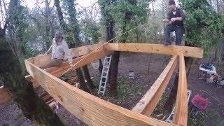 Barefoot Builders - Corvallis treehouse