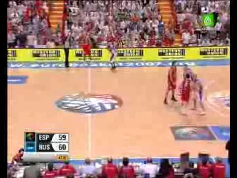 españa rusia final eurobasket 2007