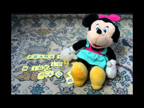 Thank You from Minnie Mouse :O)