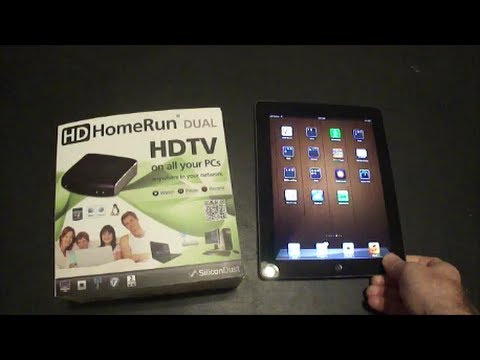 Tech Tip #33 HDHomerun - How to watch live TV on iPad with the HDHomerun and an OTA