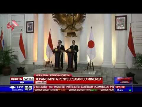 Menlu Jepang ke Indonesia Bahas Minerba dan Visa
