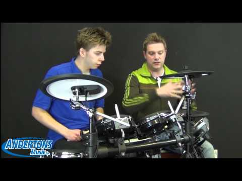 Roland V-Drums TD-15KV Electronic Drum Kit In-Depth Demo