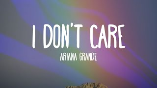 download musica Ariana Grande - I Dont Care Only