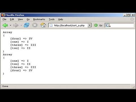 Clique e veja o vídeo Curso Programação PHP - Arrays