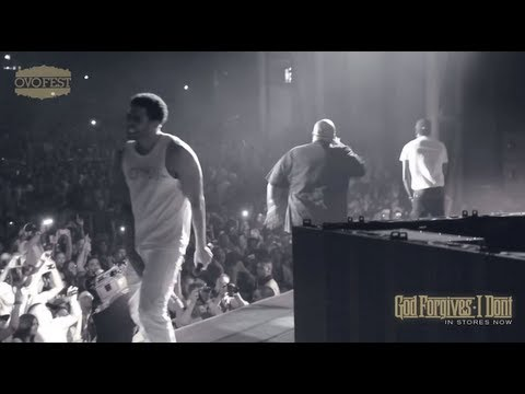 Rick Ross at Drakes's 3rd Annual OVO Fest (Toronto)