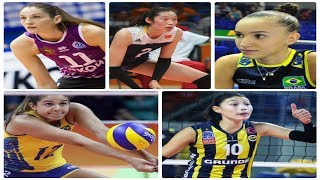 TOP 5 The Most Powerful Volleyball Woman Spikes