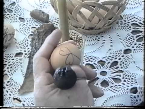 Vaskrsnja jaja-Obicaji Radjevine-Dobrivoje i Dobrila Pantelic