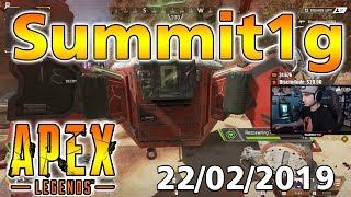 Summit1g Apex Legends Daily Stream 22/02/2019 - Apex Legends Epic Moments