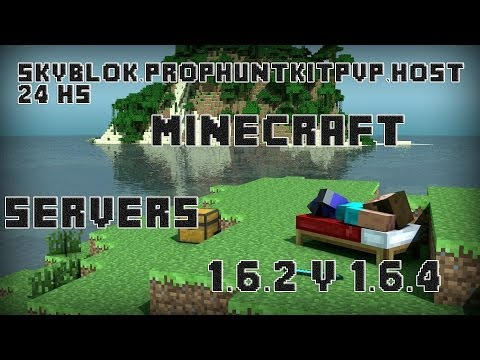Minecraft Servers 1.6.4 y 1.7 (Minijuegos,PVP,PROPHUNT,SKY,HG,THE WALLS,SKYWAR)|